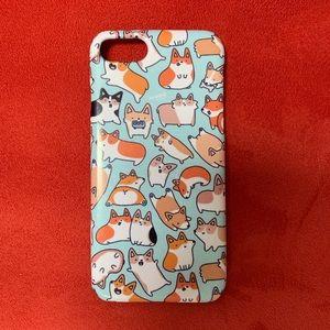 Corgi iPhone 7 case
